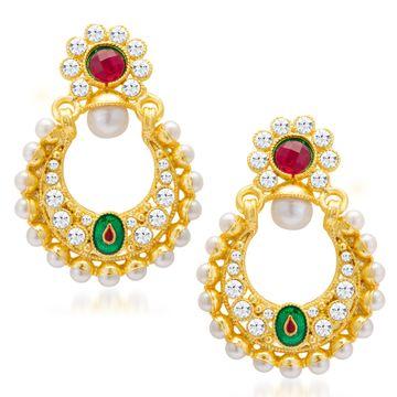 SUKKHI   Sukkhi Glorious Gold Plated Earring For Women