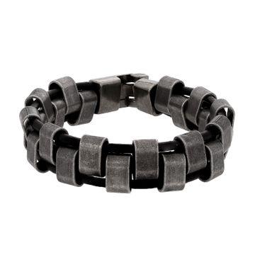 SUKKHI | Sukkhi Glimmery Adjustable Brown Leather Bracelet for Men
