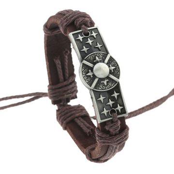 SUKKHI | Sukkhi Exotic Adjustable Brown Leather Bracelet for Men
