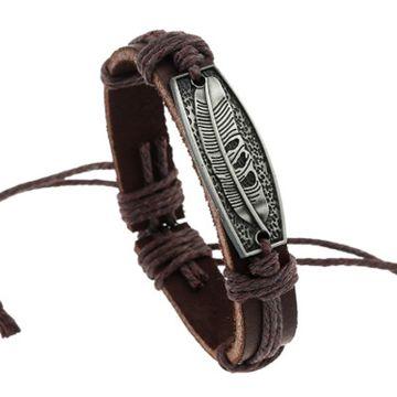SUKKHI | Sukkhi Exclusive Adjustable Leather Bracelet for Men