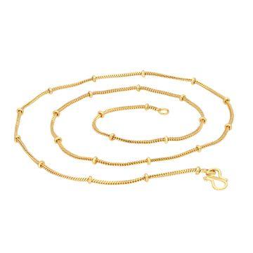 SUKKHI | Sukkhi Modern Gold Plated Unisex Snake chain