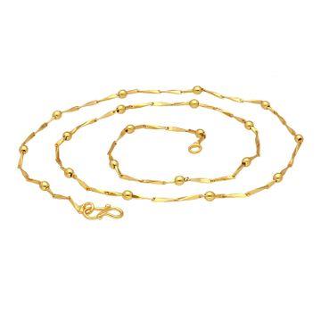 SUKKHI | Sukkhi Stylish Gold Plated Unisex Link chain
