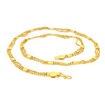 SUKKHI | Sukkhi Spectacular Gold Plated Unisex Box chain
