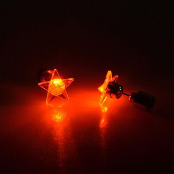 SUKKHI | Sukkhi Wavy Star Shaped Led Colorful Party Dance Unisex Stud Earring