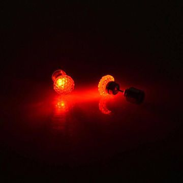 SUKKHI | Sukkhi Gleaming Round Crystal Led Colorful Party Dance Unisex Stud Earring