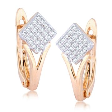 SUKKHI   Sukkhi Lavish Square Shaped Gold Plated drop Earrings for Women