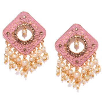SUKKHI | Sukkhi Cluster Mint Collection Gold Plated Earring for Women
