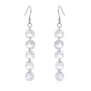 SUKKHI | Sukkhi Amazing Crystals from Swarovski Drop Down Platinum Plated Drop Earring Women and Girls