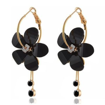 SUKKHI | Sukkhi Attractive Floral Crystal Gold Plated Clip-On Earring for Women