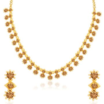 SUKKHI | Sukkhi Traditional Gold Plated LCT Stone Necklace Set for Women