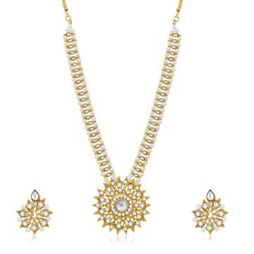 SUKKHI | Sukkhi Attractive Gold Plated Necklace Set for Women