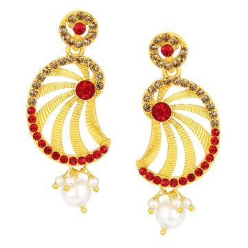 SUKKHI   Sukkhi Sparkling Gold Plated Earring SJ6114EN