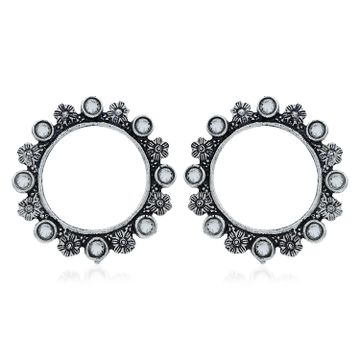 SUKKHI | Sukkhi Exotic Oxidised Floral Stud Earring For Women
