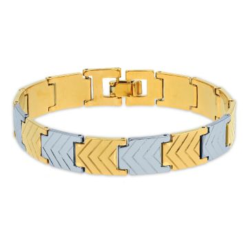 SUKKHI | Sukkhi Charming Gold & Rhodium Plated Bracelet for Men