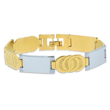 SUKKHI | Sukkhi Elegant Gold & Rhodium Plated Bracelet for Men