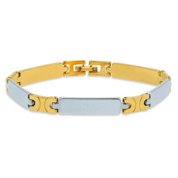 SUKKHI | Sukkhi Designer Gold & Rhodium Plated Bracelet for Men