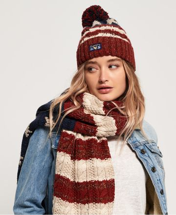 Superdry | AMERICANA CABLE BEANIE