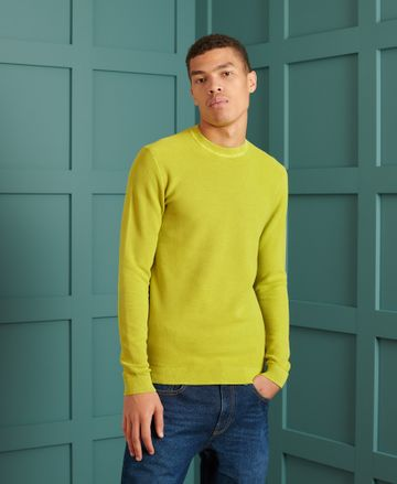 Superdry | GARMENT DYED TEXTURED CREW