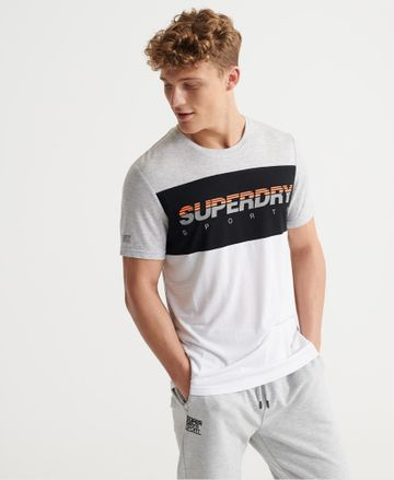 Superdry | TRAINING GRAPHIC BLOCK TEE