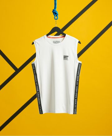 Superdry | TRAINING SLIM FIT TAPED TANK
