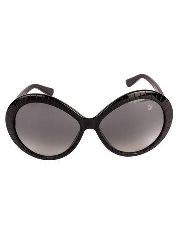 swarovski | SWAROVSKI Butterfly Sunglass with Grey  Lens for Women