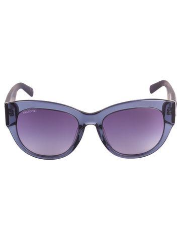 swarovski   SWAROVSKI Cat-eye Sunglass with Blue  Lens for Women