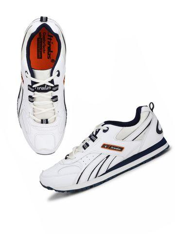 Hirolas | Hirolas Multi Sport Shock Absorbing Walking  Running Fitness Athletic Training Gym Sneaker Shoes - White