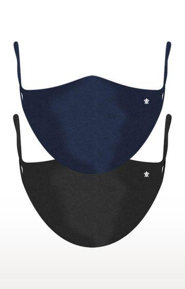 Turtle | Black Reusable Cotton Protective Mask