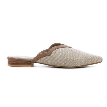 Trends & Trades | Women Off White Flats
