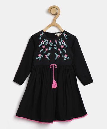 Bellamoda   Bella Moda Casual Dress For Girls & Baby Girls, Soft & Comfertable Dress.