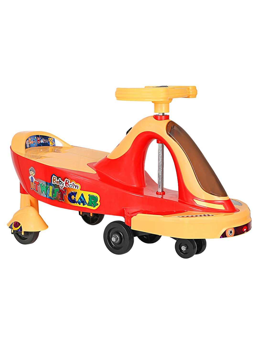 CREATURE | Creature Red Twist Ride Ride-On Cars Toy Vehicle for Kids