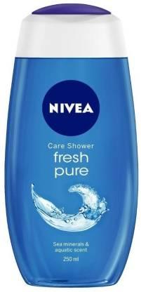 Nivea | NIVEA Shower Gel Fresh Pure Body Wash (250 ml x 2)