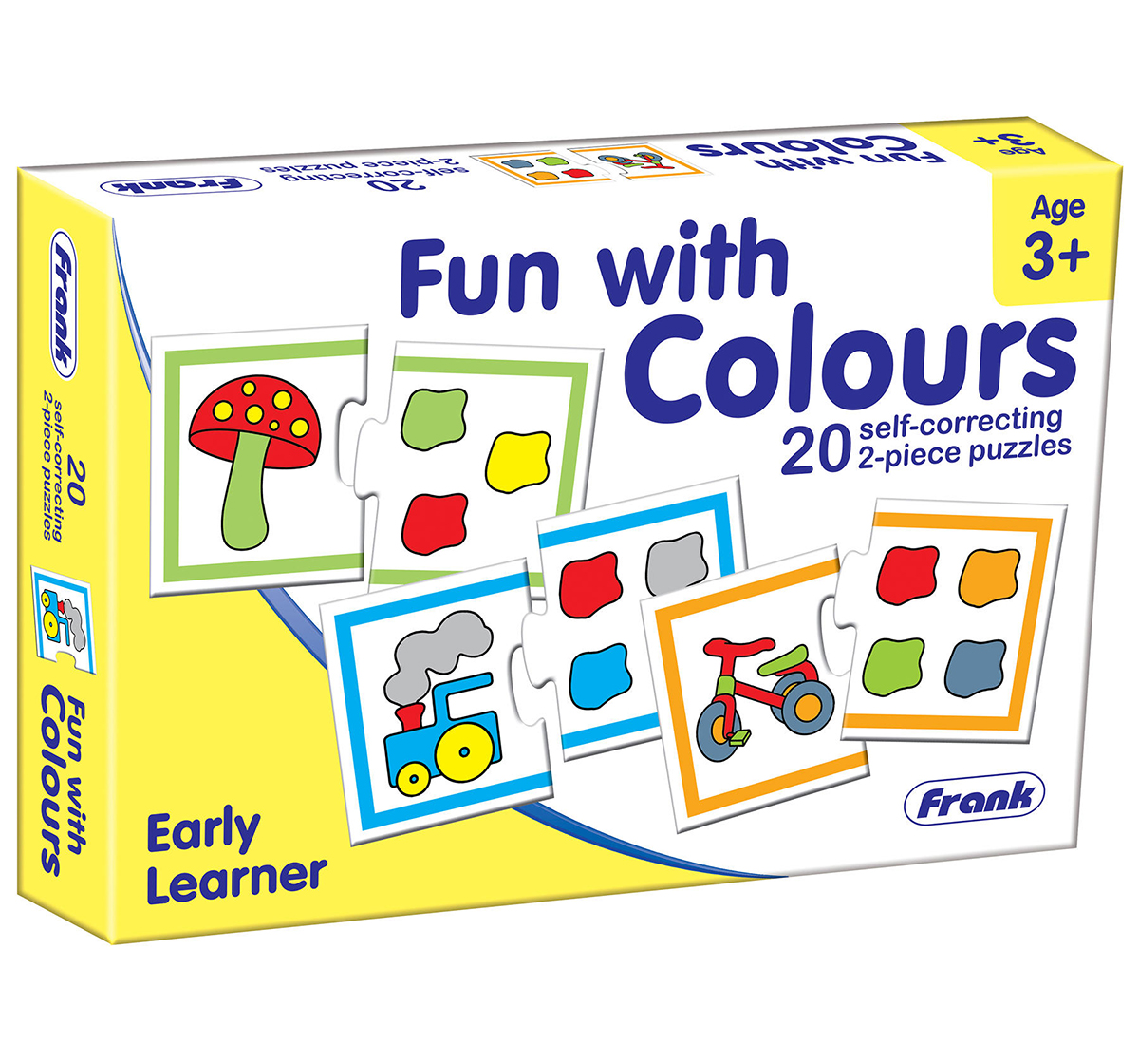 Frank   Frank Fun With Colours DIY Art & Craft Kits for Kids age 3Y+