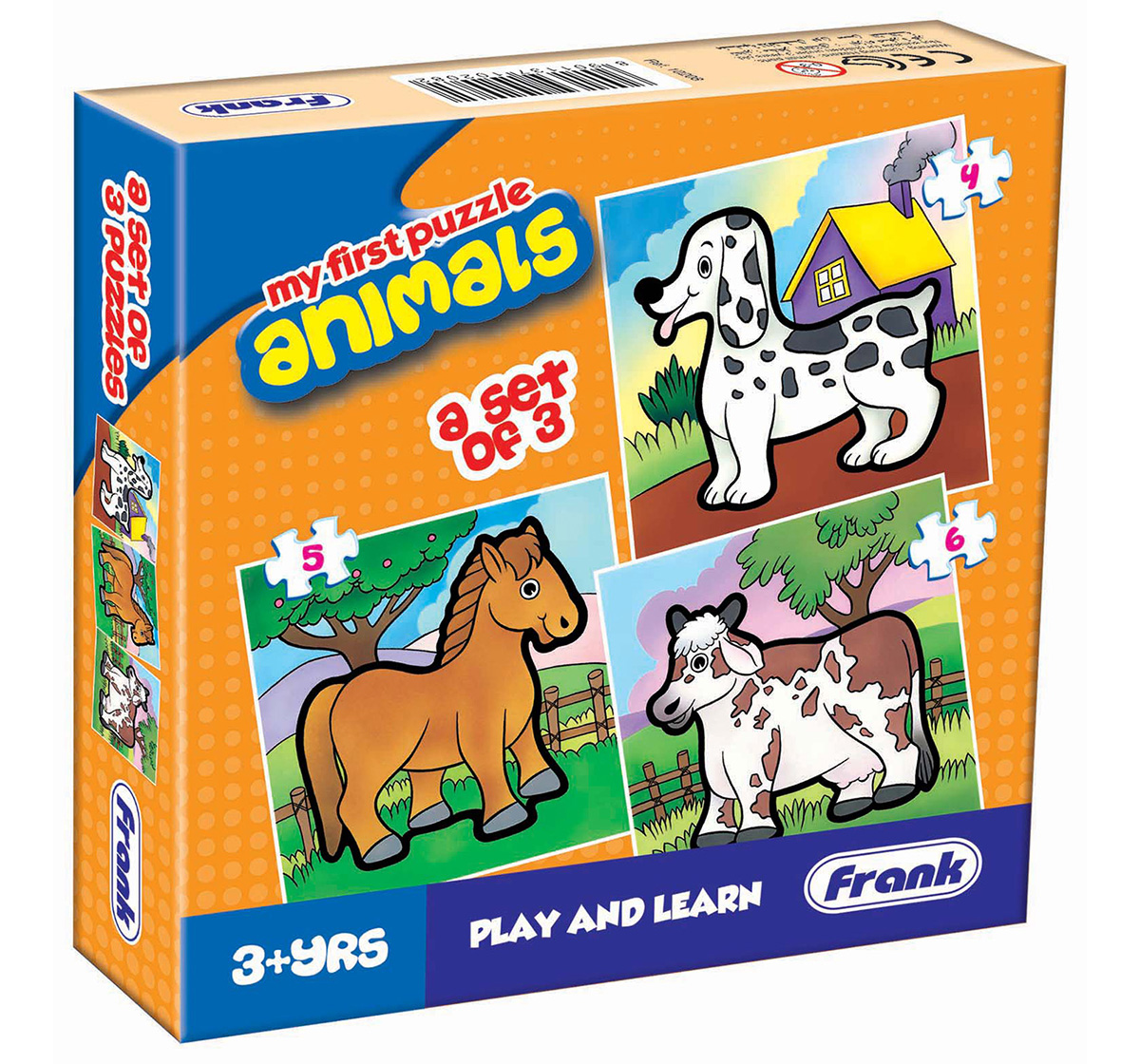 Frank   Frank My First Animals Puzzle, 3Y+
