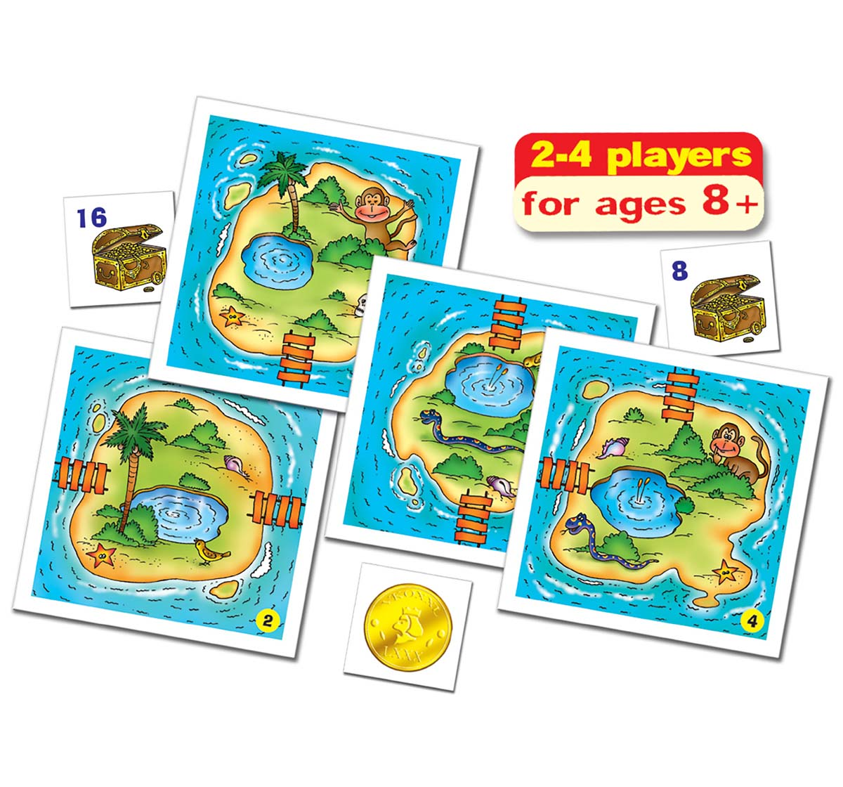 Frank | Frank Treasure Island Puzzles for Kids age 8Y+