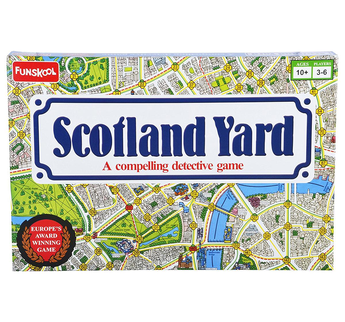 Funskool | Funskool Scotland Yard Board Games for Kids age 10Y+