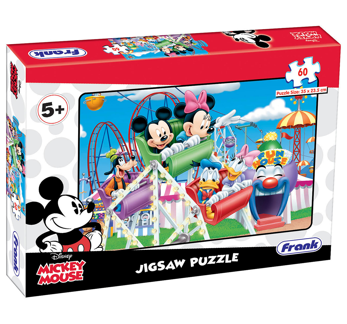 Disney   Disney  Frank Mickey Mouse On Joy Ride Puzzle  for Kids age 5Y+