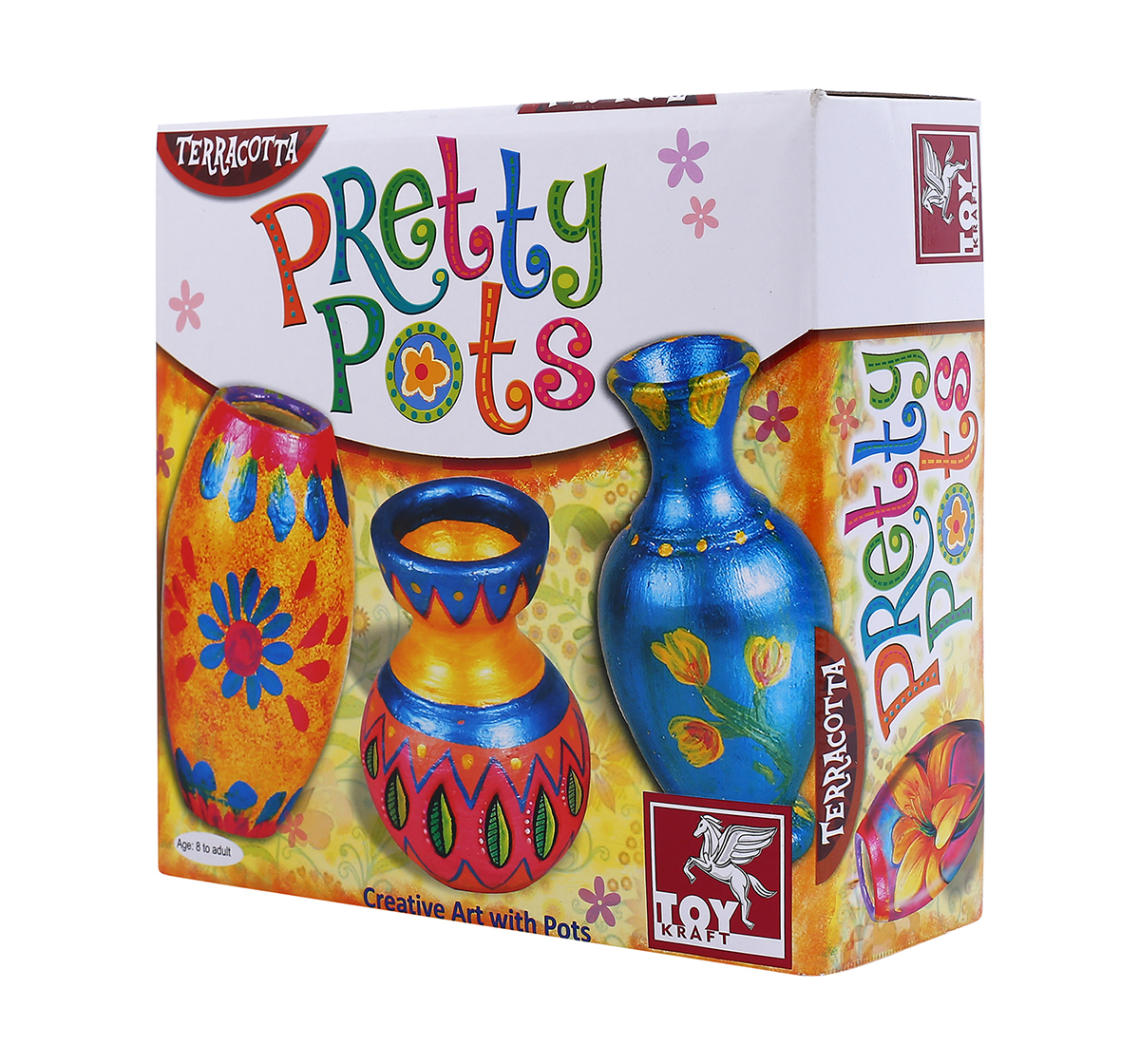Toy Kraft | Toy Kraft Pretty Pots DIY Art & Craft Kits for Kids age 8Y+