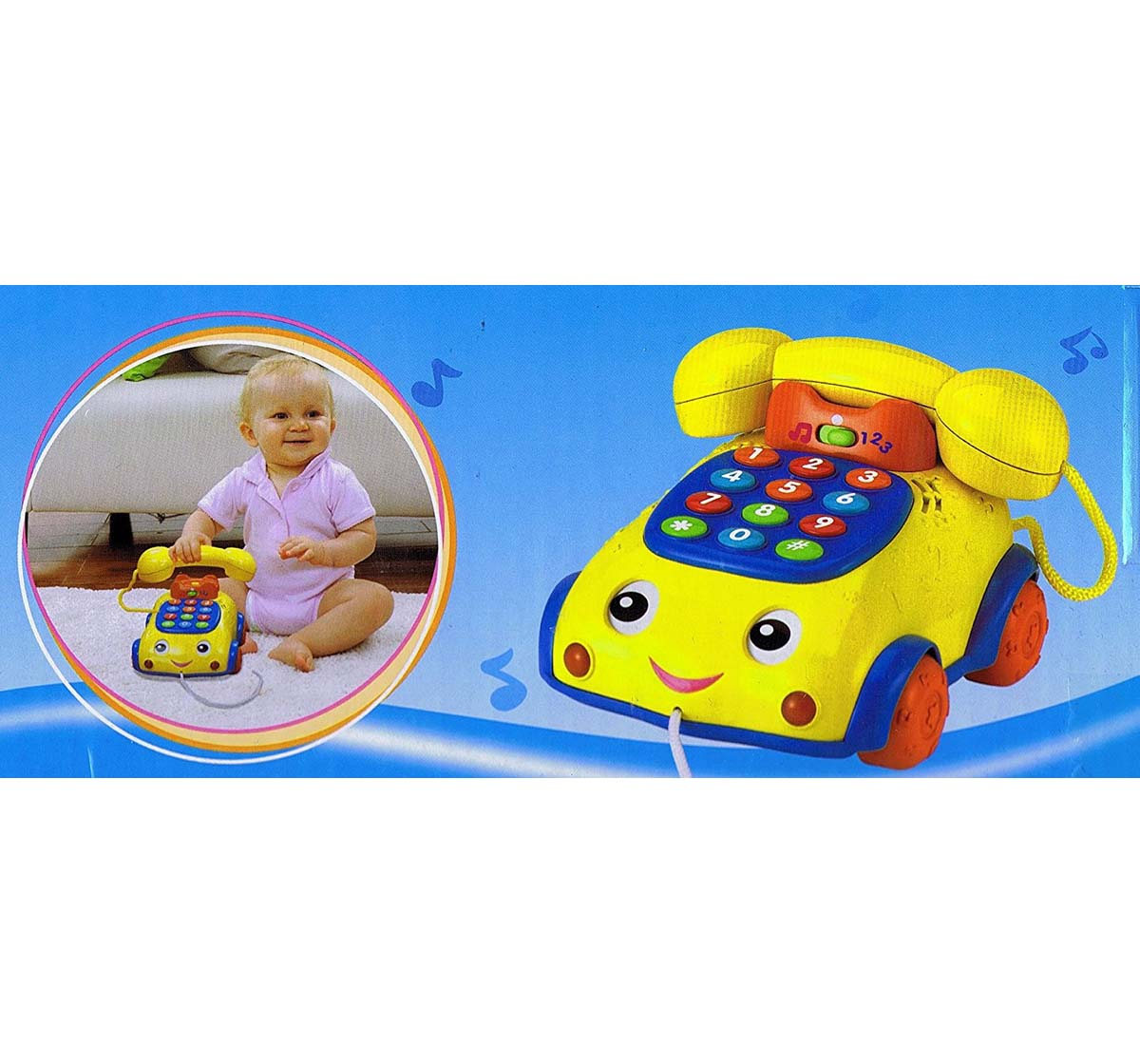 WinFun | Winfun Talk 'N Pull Phone Early Learner Toys for Kids age 24M+
