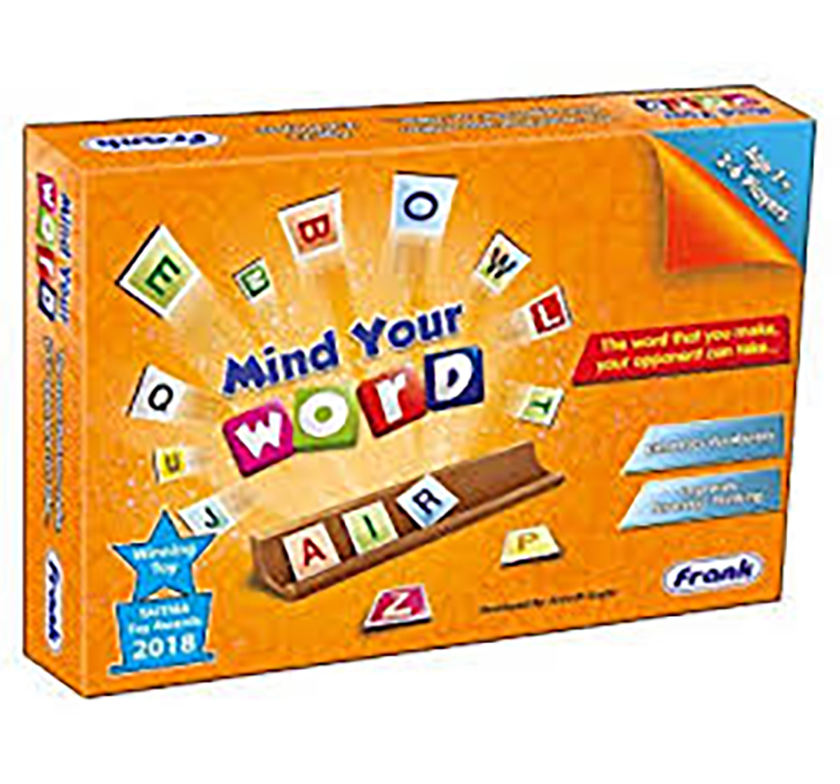 Frank |  Frank Mind Your Word Game  Puzzles for Kids age 7Y+