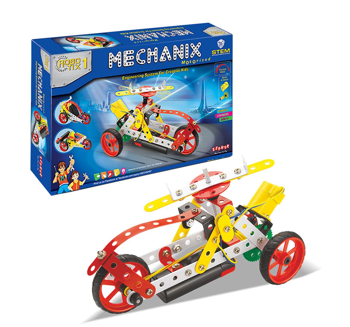 Mechanix | Metal Mechanix - Robotix - 1, Unisex, 7Y+ (Multicolour)