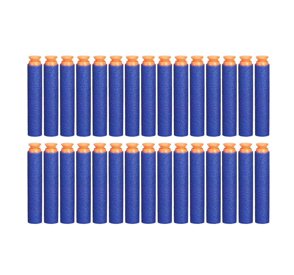 Nerf   Official Blue Nerf Elite Suction Darts 30-Pack Refill For Nerf Elite Blasters - Target Games for Kids age 8Y+