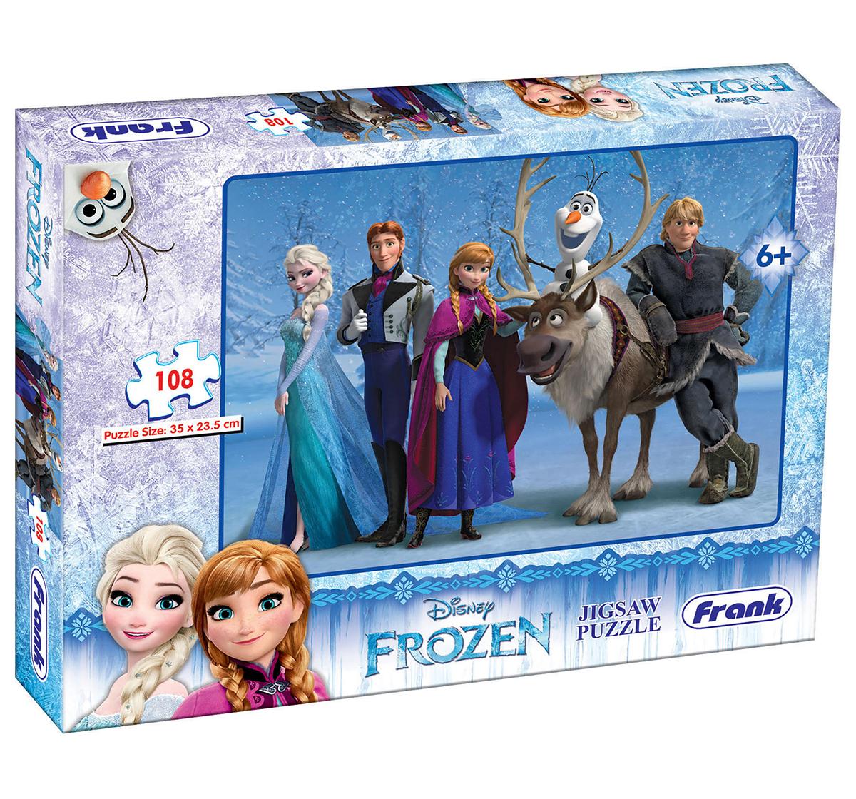 Frank | Frank Frozen 108 Pcs Puzzle Puzzles for Kids age 6Y+