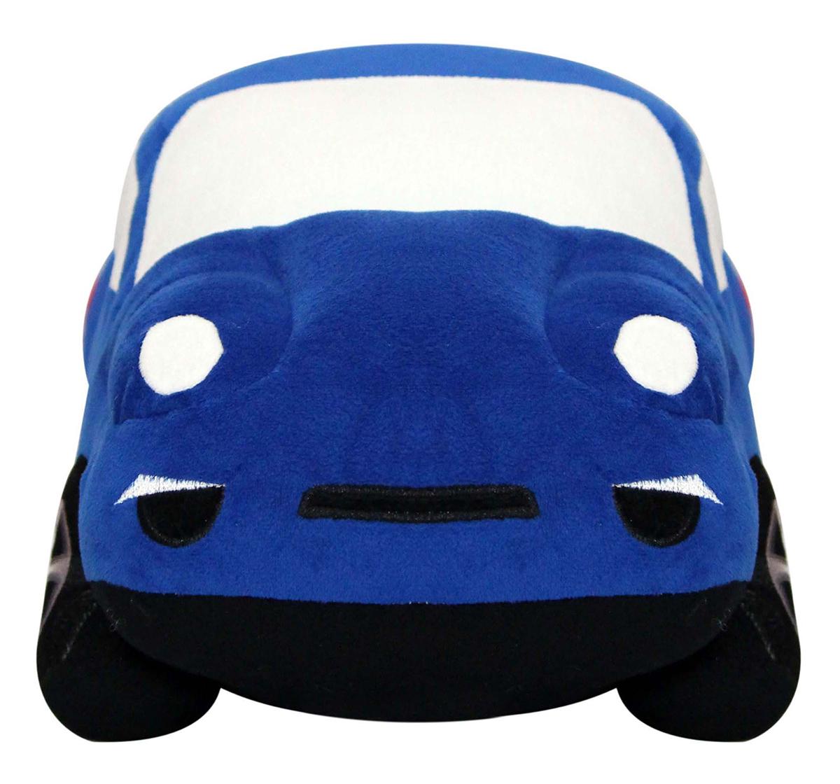 Soft Buddies | Soft Buddies Blue Car Soft Toy, Unisex, 3Y+ (Blue)
