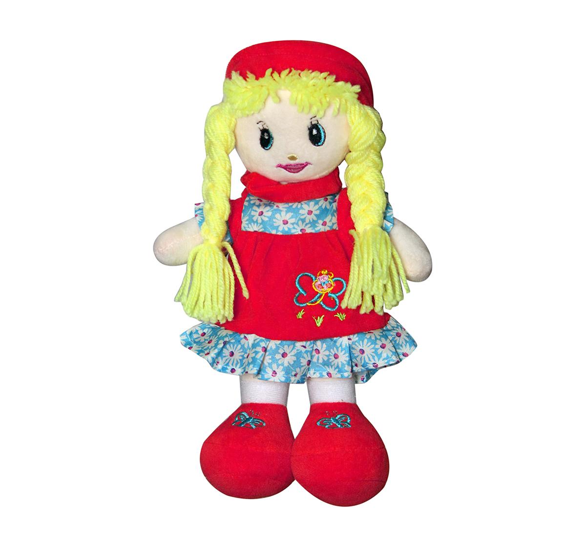 Soft Buddies | Soft Buddies Flamingo Veronical Doll Dolls & Puppets for Kids age 12M+ - 30 Cm