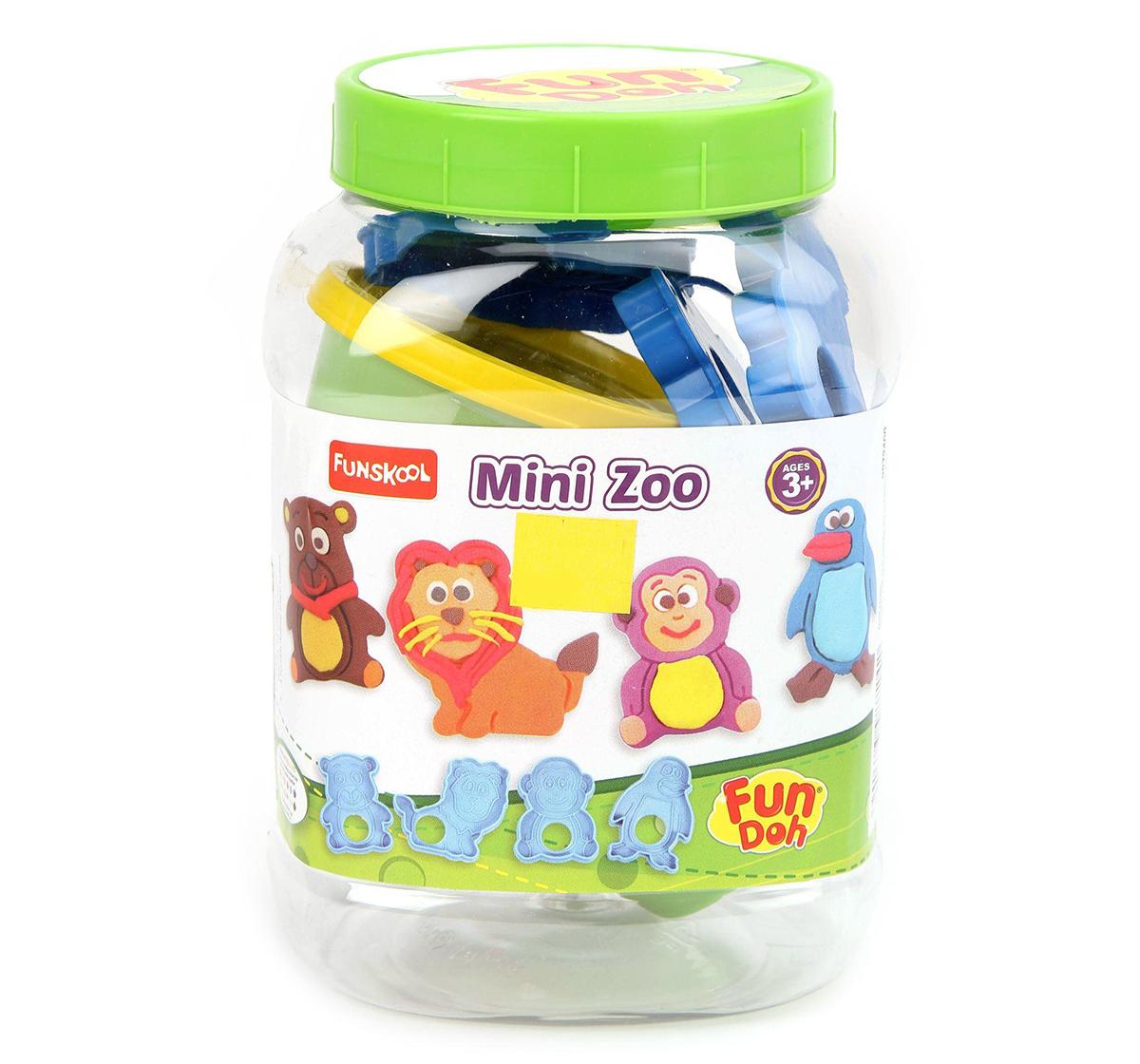 Fun-Dough | Fun Dough Mini Zoo Clay & Dough for Kids Age 3Y+