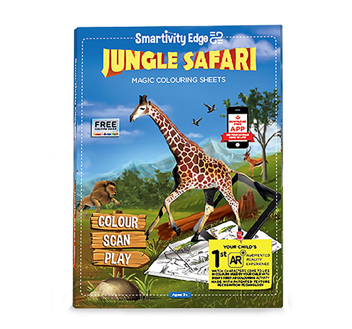 Smartivity   Smartivity Edge Jungle Safari, Unisex, 3Y+ (Multicolor)