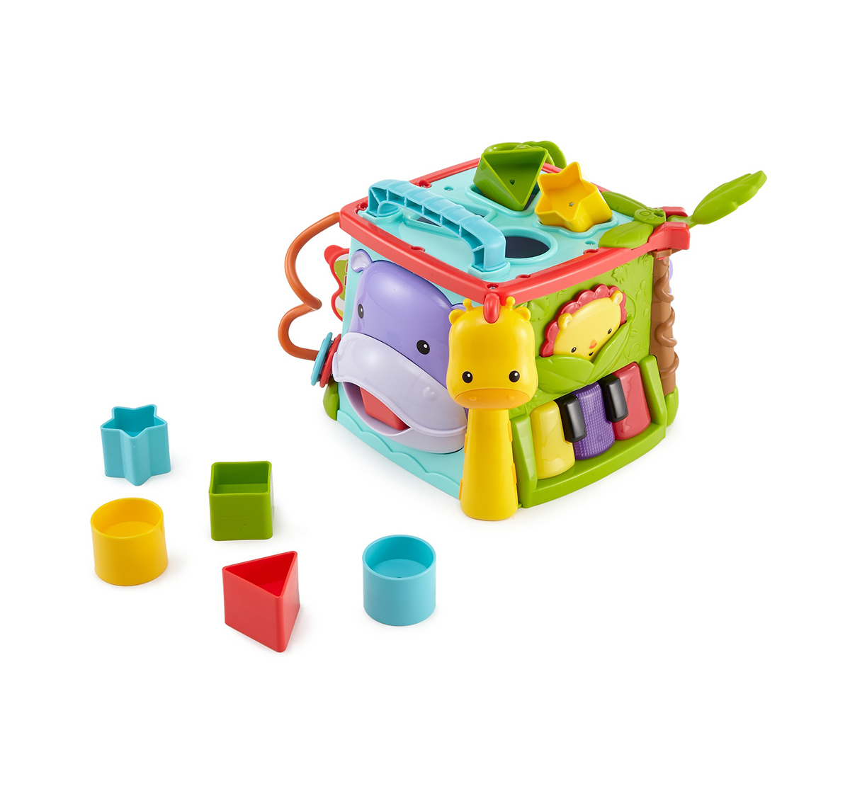Fisher-Price   Fisher-Price Play & Learn Activity Cube Fun Game for Age 6M+