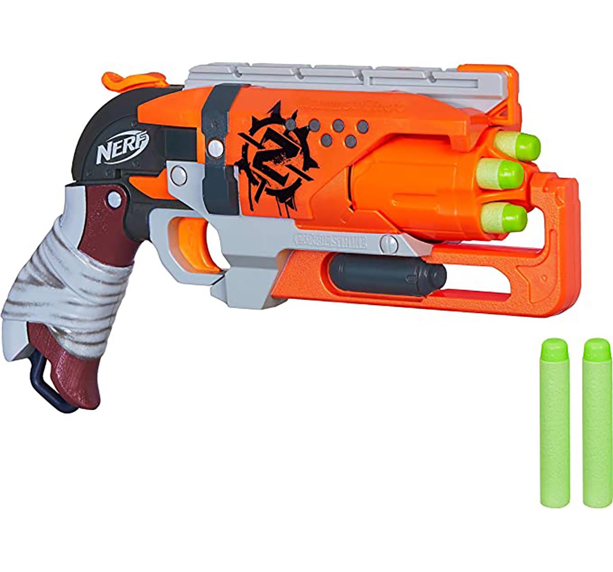 Nerf | Nerf Hamleys Zombie Strike Hammershot Blasters for Kids age 8Y+