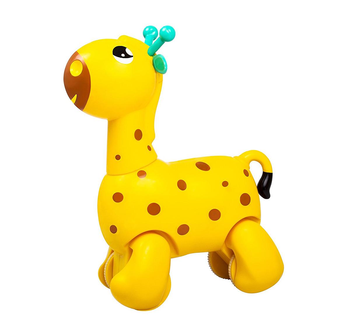 Giggles | Giggles Nico The Giraffe, Yellow New Born for Kids age 12M+ (Yellow)